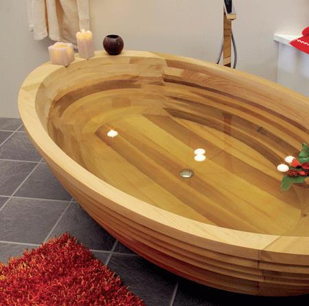 Деревянная ванна своими руками фото